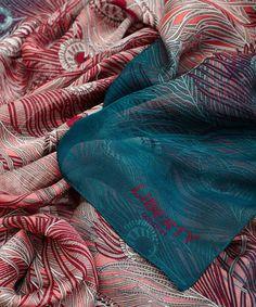 Hera Silk Chiffon Scarf | Liberty London