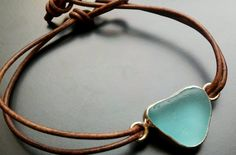 Sea Glass Jewelry Sea Glass Bracelet by JulieAndersonDesign, $59.00