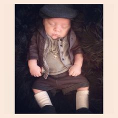 Baby boy fashion outfit