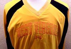 UNDER ARMOUR WEST VIRGINIA Cold Gear THE RECRUITER  V Neck Pullover SZ LG NWT…