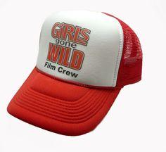 1b1875213 Girls Gone Wild hat trucker hat film crew hat Original adjustable snap back  New #unspecified