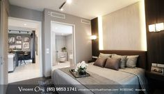 Brand New 1 bedroom, 2 bedroom and Penthouse for Sale. Starts from S$1.03x Mil.  M5 Appointed Marketing Agency: Knight Frank  ☎ Project In-Charge at +65-98531741 or message (SMS / Whatsapp) for more info, schedule your exclusively Show Flat viewing appointment strictly by prior arrangement only or a live presentation from the comfort of your home.