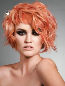 Carrera Bailey, Wella Professionals North American Trend Vision Awards bronze medalist in color category. June 2013