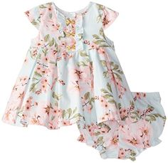 Little Baby Girl, Little Girl Outfits, Toddler Outfits, Kids Outfits, Baby Girls, Baby Girl Fashion, Kids Fashion, Box Pleated Dress, Baby Girl Closet