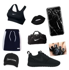 """""""Tenis girl"""" by elenaanais on Polyvore featuring Converse, NIKE and Recover"""