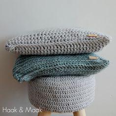 Haak & Maak: Hip gehaakte woonaccessoires