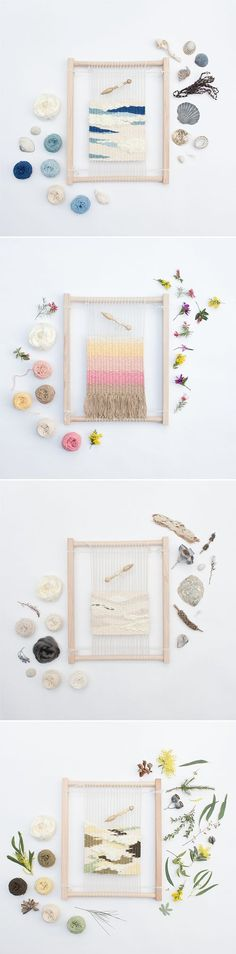 Eco Weaving Kit for beginners by Alchemy. 2019 Eco Weaving Kit for beginners by Alchemy. The post Eco Weaving Kit for beginners by Alchemy. 2019 appeared first on Weaving ideas. Tapestry Weaving, Loom Weaving, Diy Projects To Try, Craft Projects, Weaving Projects, Woven Wall Hanging, Weaving Techniques, Loom Knitting, Knitting Ideas