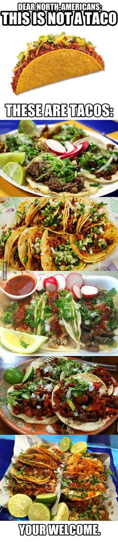 """***You're. But it is still really funny :) At my house, we call the tacos on the very top """"Crappy tacos"""""""
