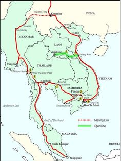 Vietnam to add new line to China-Southeast Asia rail network      An overview of the Singapore-Kunming Rail Link. Source: United Nations Economic and Social Commission for Asia and the Pacific. A rail link is now being planned between the central province of Ha Tinh and Laos capital city Vientiane, as part of a network between China and Southeast Asian...  Vietnam Tour Expert Help: www.24htour.com Halong Bay Cruises Tour  Expert Help: www.halongcruises.com.au  #24htour