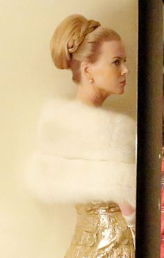 "Nicole Kidman as Grace Kelly--Stunning. Can't wait to see this movie. ""Grace of Monaco."""