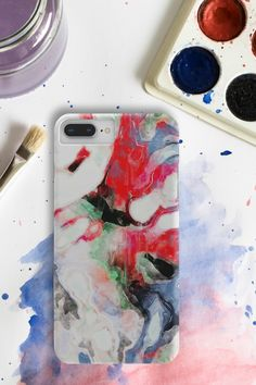 Living life like artists do.🎨 ❤️ Phone case for iPhone or Samsung. #phonecases #artcases #watercolorcases #tiedyecases Iphone Cases, Samsung, Watercolor, Artists, Life, Pen And Wash, Watercolor Painting, Iphone Case, Watercolour