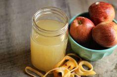Recette maison du vinaigre de cidre avec restes de pommes