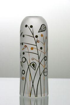 Vase.Carex.original. glass