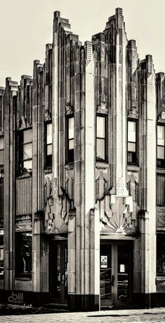 one of only two art deco buildings in Elgin IL - built in 1930 for the salvation…