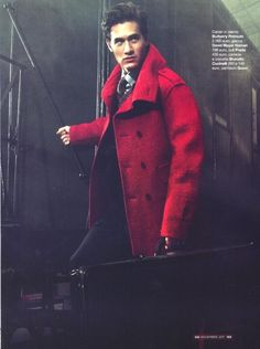 Charlie Siem in GQ (Italy) Nov 2011. Ph. Van Mossevelde