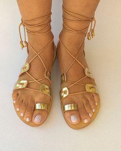 leather sandalsgladiator sandalswomens by chicbelledejour on Etsy