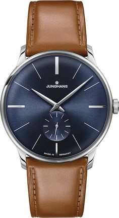 Hmmm...  unostentatious and noble :-) Get it here and let us send it to your country! Junghans Meister Handaufzug 027/3504.00 Herrenuhr | uhr24
