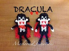 Rainbow Loom: How To make Dracula / Vampire Marloomz Creations Can be made on a Rainbow Loom, Crazy loom, Twist n loop and Wonder loom. Please Subscribe To M...
