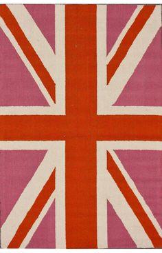 Rugs USA Homespun England Bubble Gum Rug