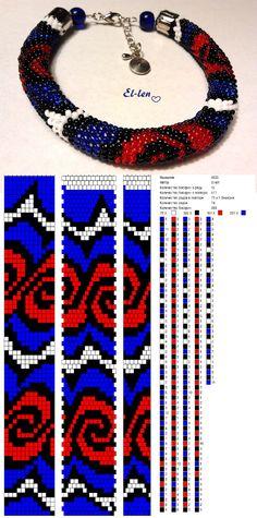 12 around bead crochet rope pattern Bead Crochet Patterns, Seed Bead Patterns, Bead Crochet Rope, Peyote Patterns, Loom Patterns, Beading Patterns, Crochet Beaded Necklace, Beaded Bracelet Patterns, Beaded Crochet