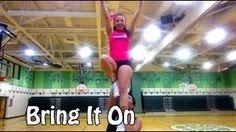Cheerleading Tryouts: Day 1 - YouTube