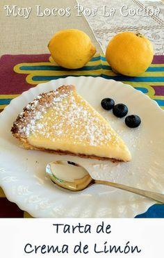Tarta de Crema de Limón: Base de masa quebrada, crujiente y con sabor a mantequilla, y relleno de crema de limón que se deshace en la boca. ¡Una combinación excepcional!