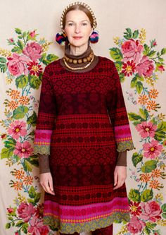 """Sirja"" cotton tunic – Sweaters & cardigans – GUDRUN SJÖDÉN – Webshop, mail order and boutiques 