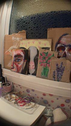Art Sketches, Art Drawings, Arte Indie, Artist Aesthetic, Arte Sketchbook, Funky Art, Gcse Art, Art Inspo, Painting & Drawing