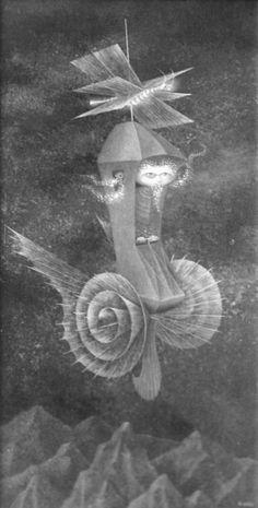 Remedios Varo | Locomoción Astral | 1963