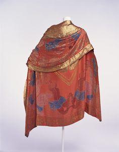 Paul Poiret cape. ca. 1925 via The Kyoto Costume Institute