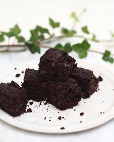 mia gardum vegank brownie med sorte bønner