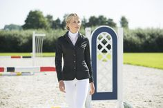 Show jackets need to fit perfectly so they don't distract from your performance.