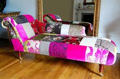 Image of: Diy Chaise Lounge Indoor Fabric. Love love love this!  But without the armrest and maybe a little bit more reclined.