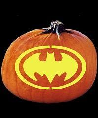 bat signal pumpkin | Batman Pumpkin Carving Patterns
