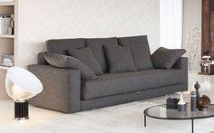 Chaise longue e divani che diventano letti, letti singoli che si tr ...