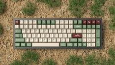 Win a free set of GMK Camping - a custom keycap set available at Kono Store.