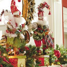 Mark Roberts Shop Till You Drop Fairy Stocking Holder