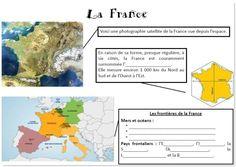 La France | la maîtresse a des yeux dans le dos High School French, France Europe, Diagram, Position, Kids, Montessori, Travel, World, Geography Lessons