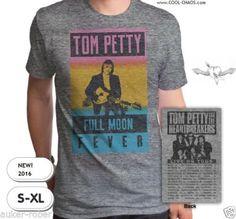 Tom Petty & The Heartbreakers T-Shirt / Men's Tom Petty Full Moon Fever Tee