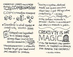 SXSW 2012 Sketchnotes: 13-14 Steal Like an Artist by Mike Rohde, via Flickr