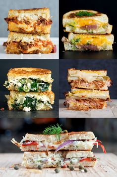 National Grilled Cheese Month - Top 5 Grilled Cheese Sandwiches + CONTEST | bsinthekitchen.com #grilledcheese #sandwich #bsinthekitchen
