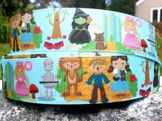 3 Yards Wizard Of Oz Ribbon by WillyWooks on Etsy, $6.00