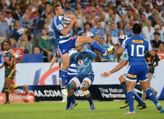 Jaco Taute of the Stormers wins the high ball during the Super Rugby match between Vodacom Bulls and DHL Stormers from Loftus Versfeld Stadium on February 2013 in Pretoria, South Africa. South African Rugby, Super Rugby, February 22, Jaco, Pretoria, Latest Pics, Athletes, Amazing, Sports
