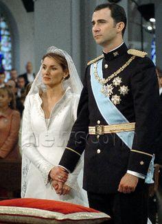 mariage felipe et letizia le 22 mai 2004