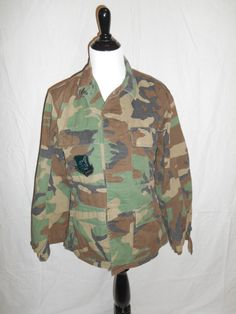 Vintage pacific  U. S. Air Force Camoflage  by ATELIERVINTAGESHOP, $40.00