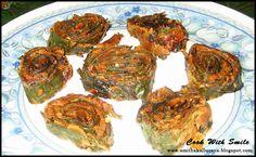 Pathra recipe (pinwheels)