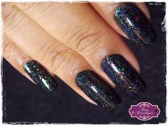 Bow Nail Polish - Dark Days     #esmaltadasdapatydomingues  #bow  #bownailpolish