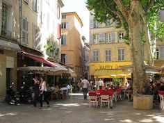 Aix en Provence, France by Peter Blanchard, via Flickr