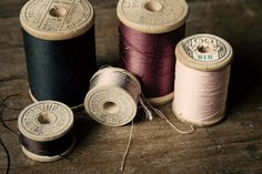 Thread Sewing Room Decor Seamstress Vintage by TheRoostFineArt