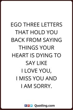 18 Best Ego Quotes Images Ego Quotes Me Quotes Quotes On Life